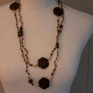 Jewelry - Earth Tones Beaded Necklace